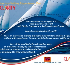 Online Invitation for Sailing Regatta