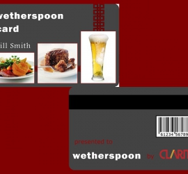 Loyalty Cards - Wetherspoons