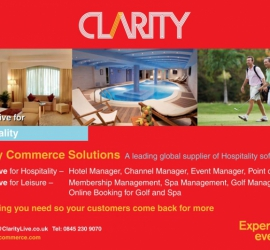 Magazine Ad for Clarity Commerce