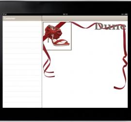 iPad Web App Skin