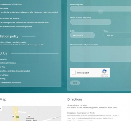 Section 4 of Onepage website
