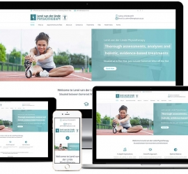 Web Design Showcase where we designed a responsive website for a company right here in Somerset West, South Africa